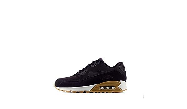 Nike Air Max 90 Soi Femmes Décontracté Chaussures Daim : Amazon.fr ...