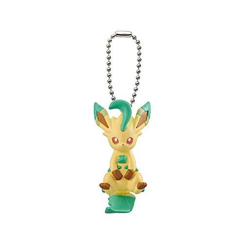Bandai Pokemon Tsumande Tsunagete Eevee Special Figure Swing Keychain~470 Leafia Leafeon Folipurba Phyllali (Leafeon Plüschtier Pokemon)