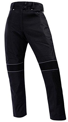 Bangla 501 Damen Cordura Hose Motorradhose im Jeanslook Schwarz XL