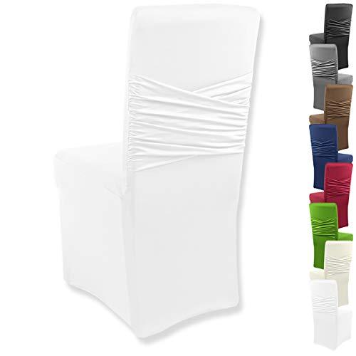 Gräfenstayn® Funda para sillas elásticas Victoria - respaldos Redondos y angulares -...