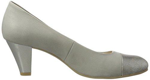 Caprice 22409, Escarpins Femme Gris (Grey Nu.comb)