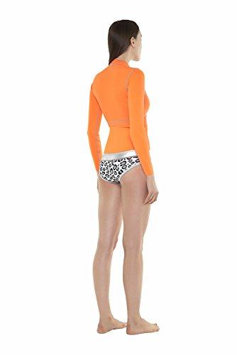 glidesoul Damen Spring Anzug Orange - Peach/Leopard ...