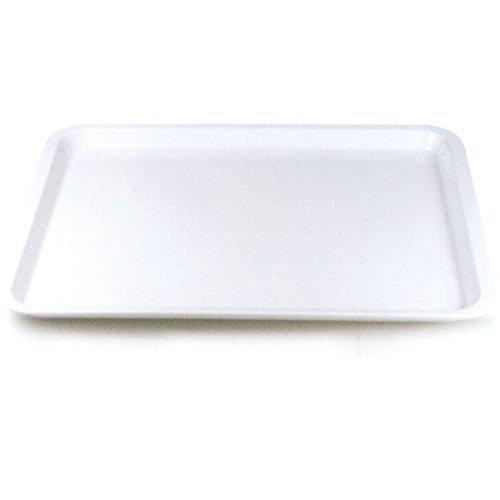 GioStyle weiß Melamin-Tablett mit Rand cm. 45x 35x 2cm