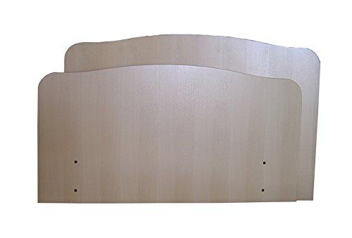 SERMAHOME- Juego de cabecero y piecero Geriatrico de Madera. Camas articulada de 90 Cm.