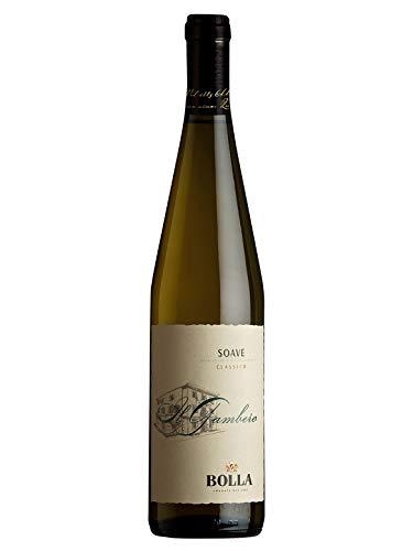 Il GAMBERO Soave Classico DOC - Bolla - Vino bianco fermo 2018 - Bottiglia 750 ml