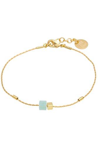 TomShot-Armband-Cube-Wrfel-aus-Glas-Swarovski-trkis-vergoldet