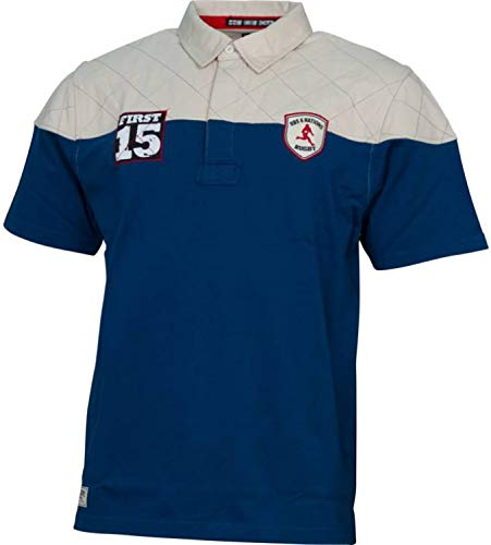 RBS 6Nations SS Farbe Blockiert Rugby-Shirt