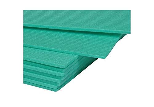 50 m² Trittschalldämmung Dämmung Boden für Laminat Parkett, 5mm - XPS Green