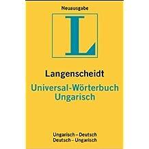 Langenscheidt Universal-Wörterbücher Ungarisch: Ungarisch-Deutsch, Deutsch-Ungarisch