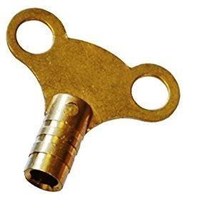 Sanitär-vent (Heizkörper-Entlüftungsschlüssel, massives Messing, Easy Grip bluten Sanitär Werkzeugkoffer Air Vent VENTIL-ENTLÜFTUNG)