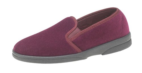 Sleepers , Chaussons pour homme Rouge - Bordeau