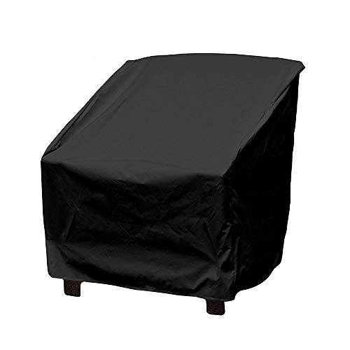 GREENSTORE Abdeckung für Gartenstuhl, Wasserdichte Sitzabdeckung, Gartenstuhl, Schutz für Terrasse, Außenbereich, Gartenmöbel, Schutzbezug für Möbel (64 x 64 x 70 cm) -