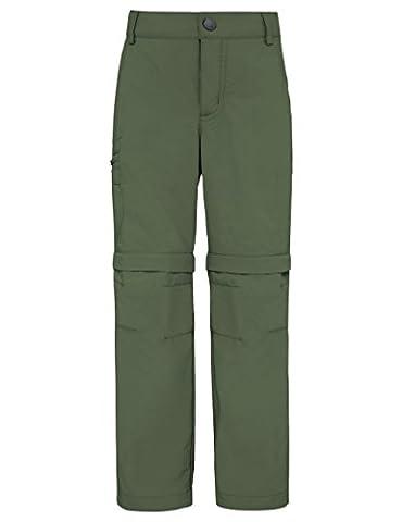 VAUDE Kinder Hose Detective Zip Off Pants II, Cedar Wood, 158/164, 05058
