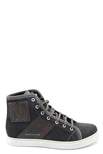 Marc Jacobs Herren Mcbi36931 Braun Leder Hi Top Sneakers