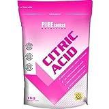 PURE Source nutrion Ácido Cítrico 500g