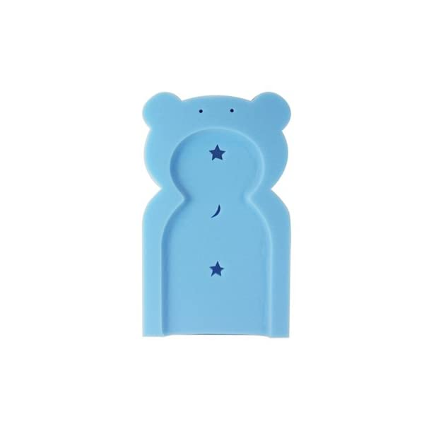 First Steps Baby Bath Time Bath Tub Support Sponge in Teddy Bear Shape for Babies from Newborn