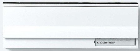 Siedle Carta solapas Módulo be 611-3/1-0SM, color plateado metálico, 2543206
