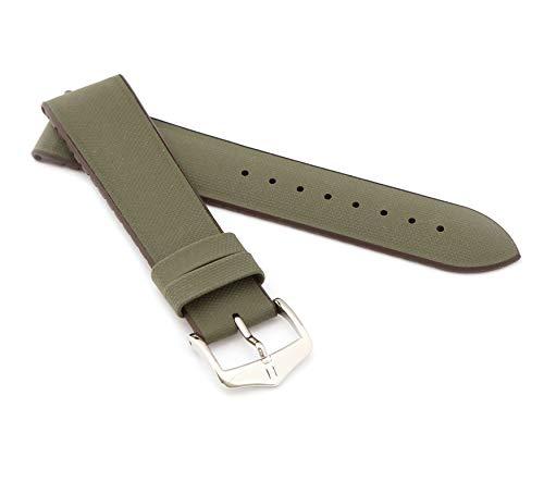 mance Uhrenarmband Modell Arne 22 mm Grün ()
