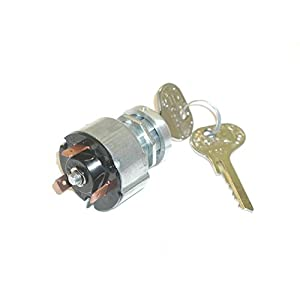 TOTALSOURCE 3661343007568 IGNITION SWITCH, 3 positions, key E30, Bosch type