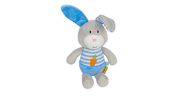Molly und Morly Babyplüsch Kuscheltier Schmusetuch Hase blau bb for kids 39008