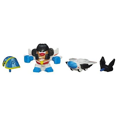 Playskool Mr. Potato Head Transformers Mixable Mashable Heroes as Starscream Robot, 2-Inch by Mr Potato