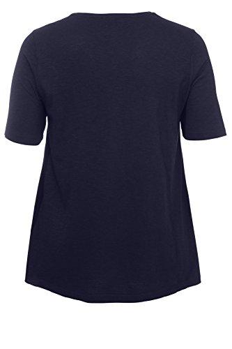 Lockeres fallendes Shirt in A-Form Deep Blue
