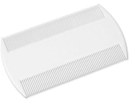 lice-cure-hair-care-fine-tooth-head-lice-pet-flea-plastic-nit-comb-white-colour