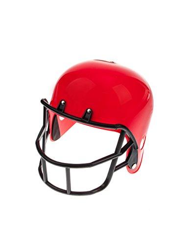 Football Helm rot one size (Kostüme Helm Football)