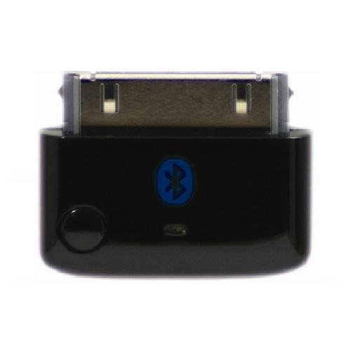 KOKKIA i10 (Luxurious Black) MULTI-STREAM Tiny Bluetooth iPod transmitter splitter for iPod/iPhone/iPad/iTouch stereo multi-stream (2 Receivers can enjoy 1 iDevice) with true Apple authentication. Remote Controls and Local iPod/iPhone/iPad Volume Control Capabilities. Works and fits very well with latest iPod 6th generation tiny Nano iPod Touch 4th generation iPhone 4S/4 and iPad 3.