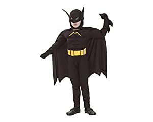 Fyasa 706080-t03muscular bate Hero disfraz, tamaño mediano