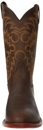 Tony Lama Bay Apache Foot Hommes Large Cuir Santiags brown