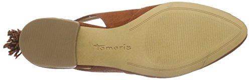 Tamaris 29402, Sandales fermées femme Orange - Orange (BRICK 544)