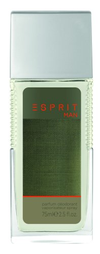 Perfumed Deodorant Natural Spray (Esprit Man Deo Natural Spray 75 ml, 1er Pack (1 x 75 ml))