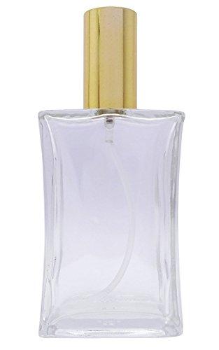 100Ml Vides Clairs Bouteilles De Parfum En Verre Aromathérapie Rechargeable Huile Essentielle Pulvérisation Au Biberon Pack De 2