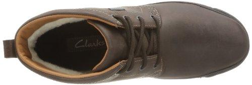 Clarks Narly Hill Gtx, Chaussures de randonnée homme Marron (Brown WLined Lea)