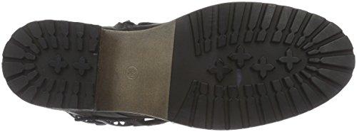 PMS Shinola Ankle Boot, Bottes de motard courtes, doublure froide femme Gris - Gris foncé (006)