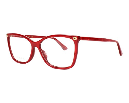 Gucci Gestell 0025O_004 (56 mm) rot