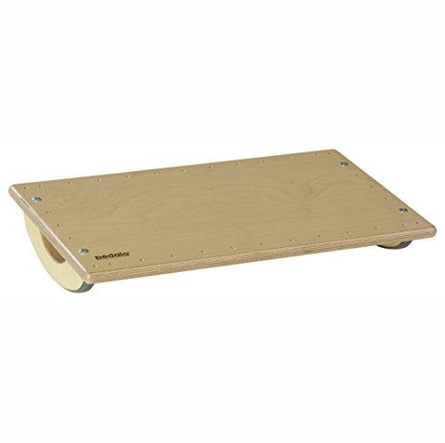 pedalo Wippbrett 60x35 I Gleichgewichtstrainer I Balance Board I Therapie-Wippe I Koordination I Rehabilitation