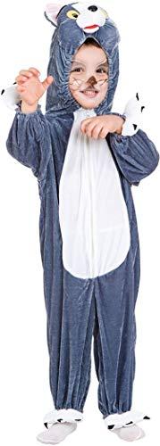 PICCOLI MONELLI Kostüm Tom und Jerry Kinder 1 Jahr Kleid Karneval Katze ()