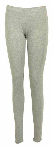 Pantalones ajustados mujer cintura elástica larga
