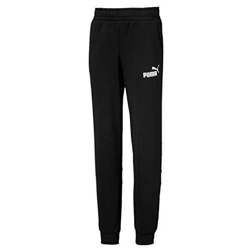 Puma Jungen Amplified Sweat Pants B Jogginghose Cotton Black, 164