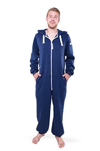 Jumpster Damen und Herren Jumpsuit Langer Overall Second G. Regular Fit Purest Blue Blau M