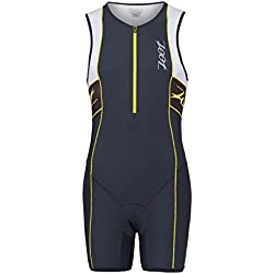 Zoot Damen triathlon Performance ?Traje de neopreno para hombre, todo el año, color pew/wht, tamaño small