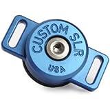 Galleria fotografica Custom - Dispositivo di aggancio SLR, girevole a 360°, per tracolla di macchina fotografica, colore: Blu