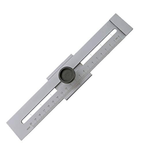 SADA72Tracciatrice in Acciaio Inox, Alta precisione Accurate Truschino in Legno Lavoro Strumento di misurazione