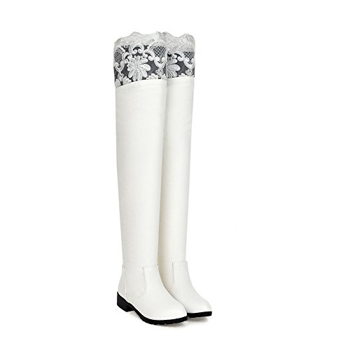 A&N - Pantofole a Stivaletto donna White
