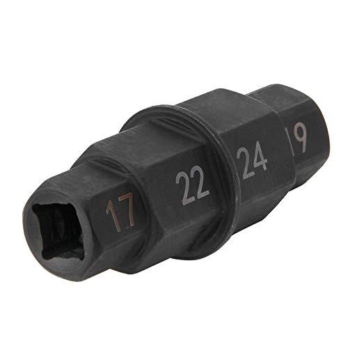 KKmoon Motorrad Werkzeug Sechskant Werkzeug 17mm 19mm 22mm 24mm Sechskant Innensechskant Spindel Mitnehmer Adapter -