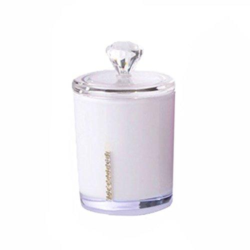 Rokoo Acryl Zahnstocher Dispenser Baumwolle Knospe Tipp Stick Container Box Halter Swabstick Fall kann -