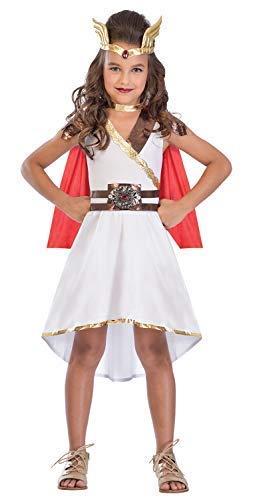 Fancy Me Mädchen Teen Göttin Prinzessin Römisch Griechisch Superheld Welttag des Buches-Tage-Woche Kostüm Kleid Outfit 5-14 Jahre - 5-7 ()