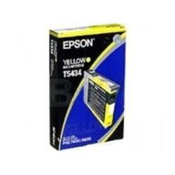 Epson Cartouche d'encre d'origine Encre pigment jaune (110 ml) Pour Stylus pro 4000/7600/9600/4400 T543400 C13T543400